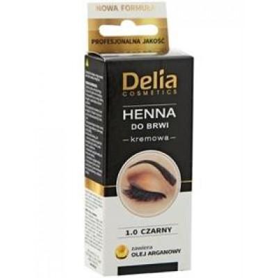 Delia-color-crem-for-eyebrow-1.0-black