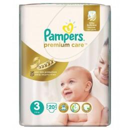 Pampers-Premium-5 9-kg/20pcs