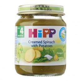 hipp-ushqim-për-femijë-me-patate-me-spinaq-dhe-ajkë-për-4-muajsh-190g