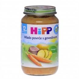 hipp-ushqim-për-femijë-me-perime-të-njoma-me-mish-gjedhi-për-12-muajsh-220g