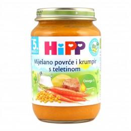 hipp-ushqim-për-femijë-me-perime-të-njoma-me-patate-dhe-mish-viqi-për-5-muajsh-190g