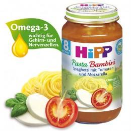 hipp-ushqim-për-femijë-me-shpageta-domate-dhe-mozarella-për-8-muajsh-220g