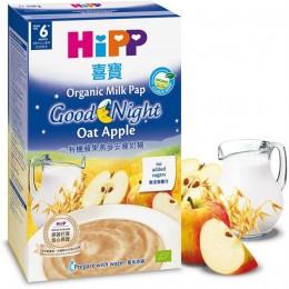 hipp-ushqim-griza-e-parë-e-foshnjës-pure-organike-për-natë-te-mirë-tërshërë-mollë-prej-muajit-6-250g