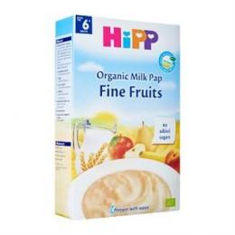hipp-ushqim-griza-e-parë-e-foshnjës-pure-organike-qumështi-fruta-të-përzgjedhura-prej-muajit-6-250g