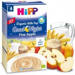 hipp-ushqim-griza-e-parë-e-foshnjës-pure-organike-qumështi-mollë-e-butë-prej-muajit-4-250g
