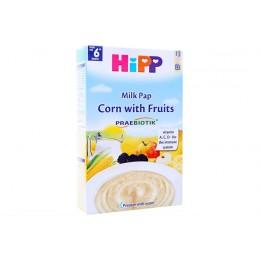 hipp-ushqim-griza-e-parë-e-foshnjës-pure-qumështi-misër-me-fruta-prej-muajit-6-250g