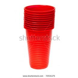 Aristea gota plastike te kuqe 50copa