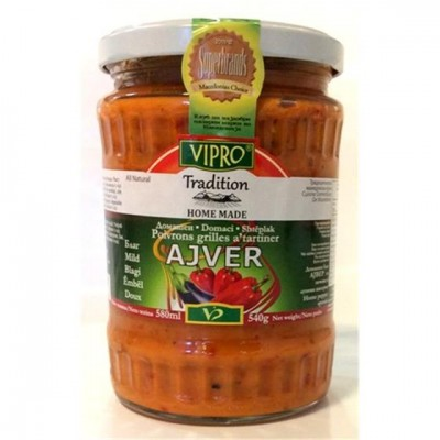 Vipro ajvar embel 580ml