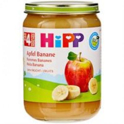 Hipp ushqim per femije me molle me banane per 4 muajsh 125g
