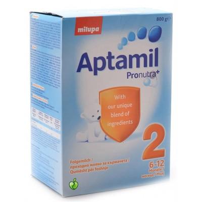 Aptamil qumsht për foshnje no2 800g
